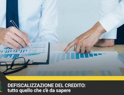 Defiscalizzazione del credito: tutto quello che c'è da sapere