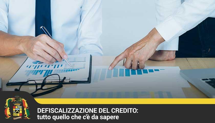 guida defiscalizzazione credito