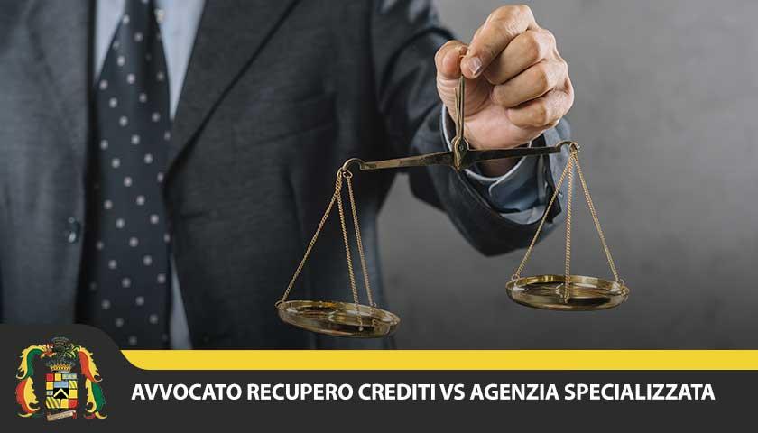 avvocato per recupero crediti